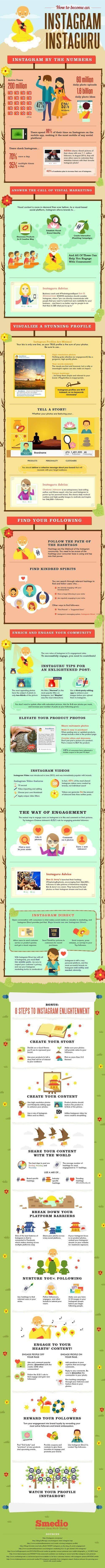 Instagram para negocios conviértete en experto en marketing visual #infografía